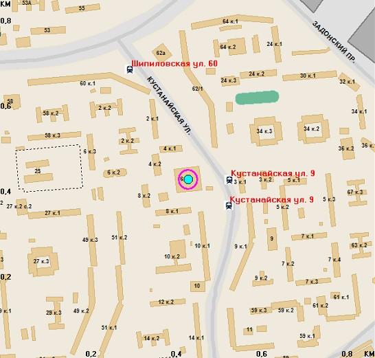Map mitino