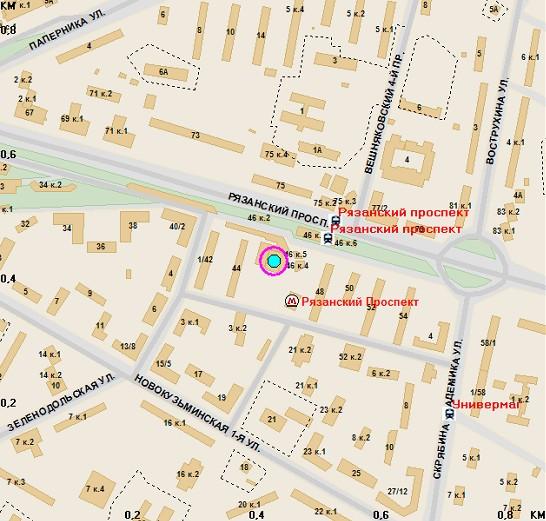Гостиницы возле метро рязанский проспект