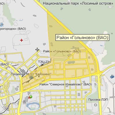 Гольяново где находиться