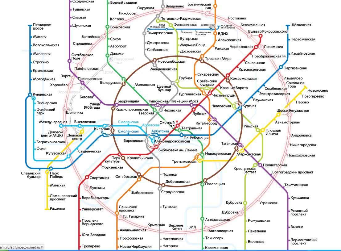 причиной появления схема метро москвы с мцк картинка домашние